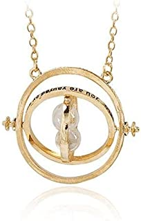 Harry potter - Reverse clock Time-Turner Necklace -mz3111