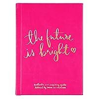 """Eccolo Dayna Lee コレクション""""Future Is Bright"""" インスピレーショナルジャーナル ハードカバー 5x7インチ"""