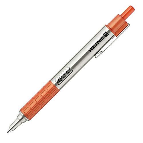 ゼブラ 油性ボールペン ウェットニー 0.7mm オレンジ軸 黒インク P-BA100-OR