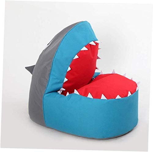 LHY- Cute Cartoon Enfants Adultes Lazy Shark Canapé, Chambre Simple Bean Bag Lazy Tatami Chaise Doux (Color : F)