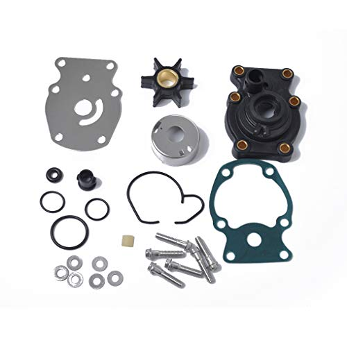 OuyFilters New Outboard Fuel Pump with Gasket Replace for Johnson//Evinrude 20-140HP Replaces 438556 388268 385781