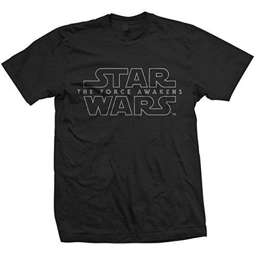 Rockoff Trade Force Awakens Logo T-Shirt, Noir, S Homme