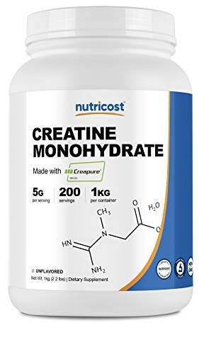 Nutricost Creapure® Creatine Monohydrate 1KG