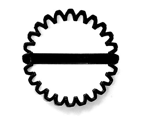 MONSTER TRUCK TIRE OUTLINE HEAVY DUTY COMPETITION VEHICLE SPECIAL OCCASION COOKIE CUTTER BAKING TOOL 3D PRINTED MADE IN USA PR3551