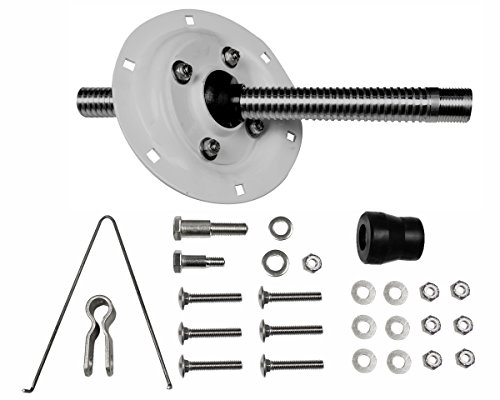 Seastar Univ. O/B SPLASHWELL Montage-Kit 15Dejeuner Lenkung Equipment
