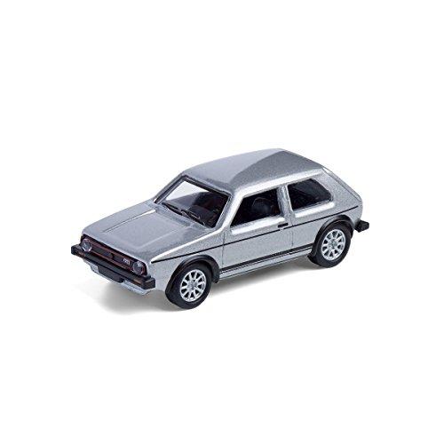 corpus delicti :: Modellauto mit Magnet für Kühlschrank und Pinnwand – Kultauto VW Golf I GTI Silber (20.8-39)