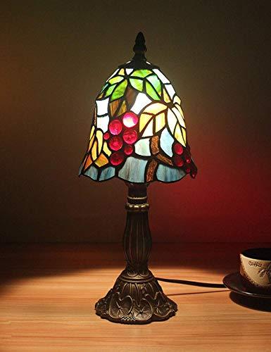 6 Zoll kleine Weinblätter pastoralen minimalistischen Stil Tischlampe Nachttischlampe Schreibtischlampe Wohnzimmer Bar Lampe Sold only in
