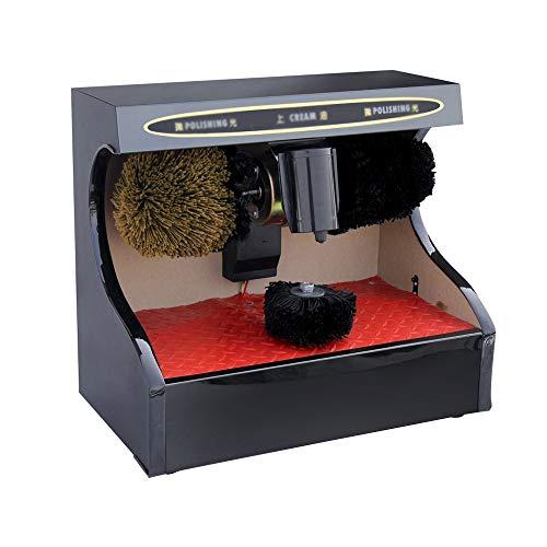 GaoYunQin Automatischer Schuhputzer Schuhputzer Maschine, Boden-Typ Automatische Induktion Schuhputzer Staubentfernungs und Scheuersaugmaschine Geeignet für Hotel-Lobby