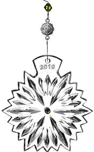 Waterford Archival Snowflake Prosperity Ornament 2019 - Lime