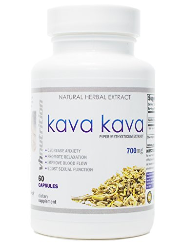 Kava Kava | 700mg Capsules | Stress Relief and Anxiety Supplement | Mental...
