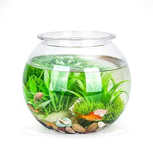 comprar peceras redondas de cristal para peces online