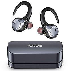 Ecouteurs sans Fil Connexion Intelligente et Stable: La technologie Bluetooth 5.0 offre une connexion plus rapide et plus stable, un son plus fidèle et une consommation d'énergie réduite. La technologie de réduction du bruit CVC8.0 avancée permet d'i...