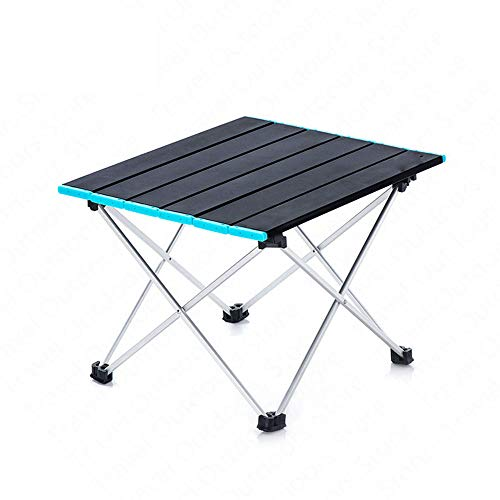 XDHN Opvouwbare campingtafel, flexibele vistafel, 0,95 kg lichtgewicht, draagbare aluminiumlegering, tafel voor indoor & outdoor picknick, camping, strand, barbecue, wandelen
