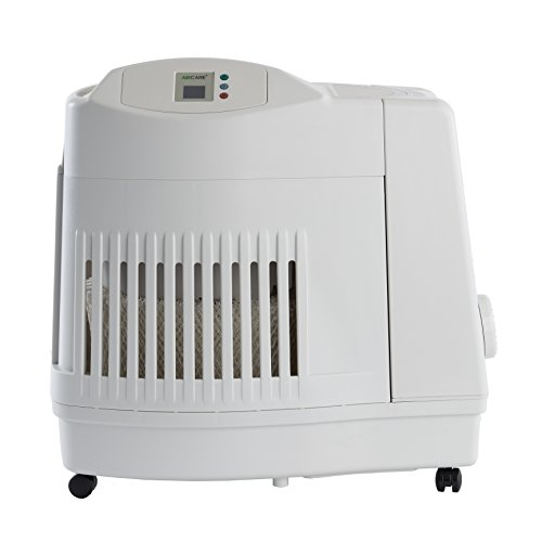 Product Image of the AIRCARE MA1201 Whole-House Console-Style Evaporative Humidifier, White