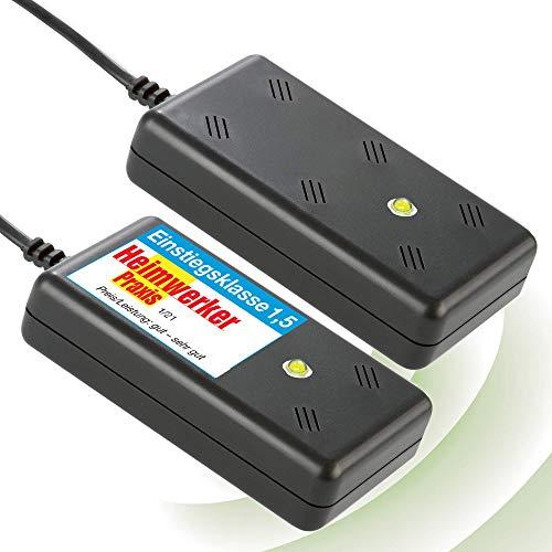 ISOTRONIC Marderschreck BLITZ mit Licht / LED Blitzlichtfunktion Ultraschall für Haus, Garage, Dachboden - vertreibt nicht nur Marder, auch Mäuse, Ratten und Katzen ideal im Innenraum mardersicher (2)