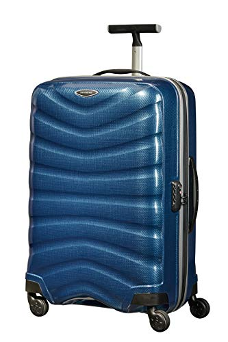 Samsonite Firelite - Spinner M Suitcase, 69 cm, 77 Litre, Blue (Dark Blue)