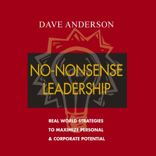 No-Nonsense Leadership audiobook cover art