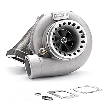 maXpeedingrods New GT35 GT3582 GT3582R Turbo Charger Anti-Surge Compressor AR.70/63 600HP Universal Turbocharger External Wastegate T3 Flange for 2.5L-6.0L Engines Water + Oil Cooled