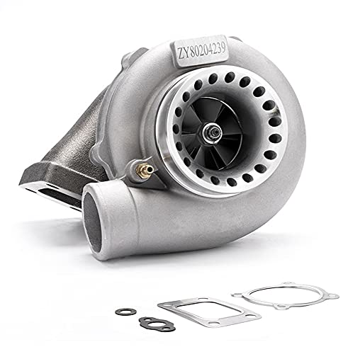 maXpeedingrods New GT35 GT3582 GT3582R Turbo Charger Anti-Surge Compressor AR.70/63 600HP, Universal Turbocharger External Wastegate T3 Flange for 2.5L-6.0L Engines Water + Oil Cooled