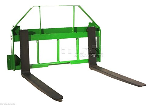 "48"" Pallet Fork Attachment for John Deere Tractors, Fits 200, 300, 400, and 500"