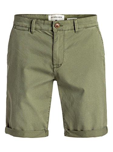 Quiksilver - Pantalones para hombre Trébol de cuatro hojas 40