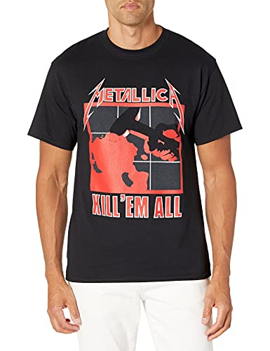 Metallica Men's Kill 'Em All T-Shirt, Black, S to 3XL