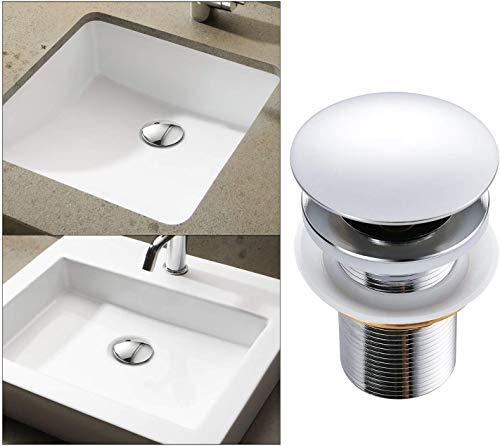 Piletta per lavandino a incastro a forma di fungo//cupola Xcel HomeTM in ottone massiccio