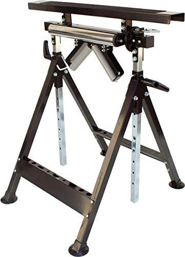 Multifunktions-Arbeitsbock, höhenverstellbarer Rollenbock und Montagebock, klappbare Arbeitsplatzverlängerung