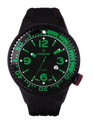Kienzle K2021173143-00260 - Orologio da polso uomo, silicone, colore: nero