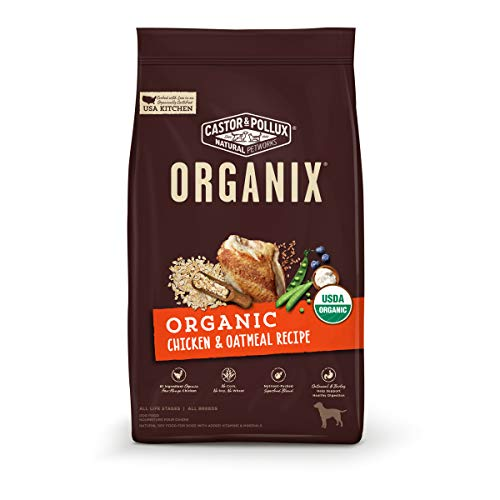 Castor & Pollux ORGANIX Organic Chicken & Oatmeal Recipe Dry Dog Food - 4 lb. Bag (35062)