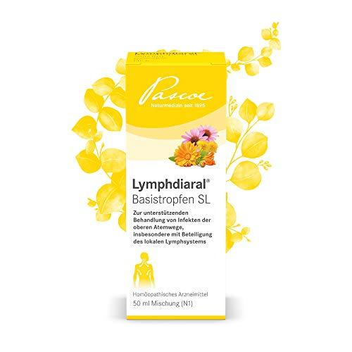 Lymphdiaral Basistropfen SL | für das Lymphsystem | bei Infekten | 50 ml