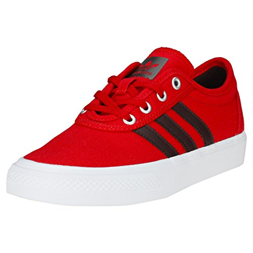 adidas Adiease, Scarpe da Skateboard Unisex-Bambini, Rosso (Scarlet Scarle/Ngtred/Ftwwht), 38 EU