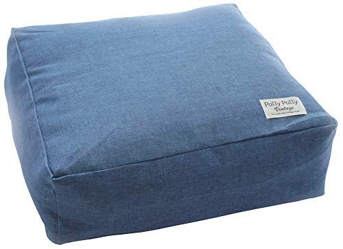 サンベルム ふとん収納 ネイビー 布団収納時/約幅60×奥行60×高さ20cm かけ布団がクッションになる布団収納袋 L08530