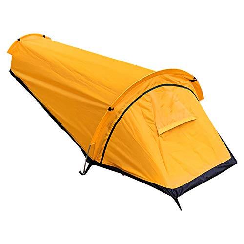 Pceewtyt Tienda de campaña Biwak ultraligera para una sola persona, mochila Biwak, impermeable, saco de vivac para camping, actividades al aire libre