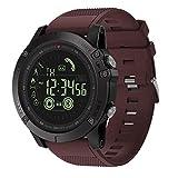 Zeblaze Vibe 3 Flagship Rugged Smart Watch 33 Meses Tiempo de Espera 24 h Monitoreo para Todo Clima Reloj Inteligente Bluetooth 5ATM-Azul