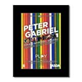 Music Ad World Poster Peter Gabriel – Remixed Remastered