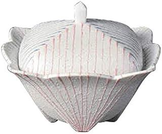 ラスター二色線角煮物碗 [ 12 x 12 x 9cm ] 【 蓋向 】 【 料亭 旅館 和食器 飲食店 業務用 】