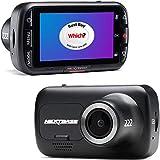Nextbase 222 - Dash CAM, Cámara del Tablero del automóvil - Full HD 1080p / 30fps Grabación en DVR CAM - Ángulo de visión de 140 ° de Ancho - GPS - SOS Emergency