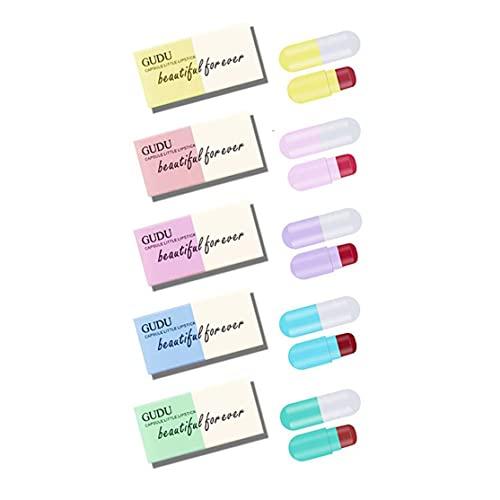 Dswe en Gros Mini Capsule Rouge À Lèvres Imperméable À l'eau Hydratant Et Pas Facile À Décoller Couleur Maquillage Présent