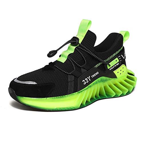 ADFD Zapatillas de Running Blade Series para Hombre Calzado Deportivo Transpirable y Cómodo Diseño de Suela Hueca Adecuado para Todo Tipo de Deportes y Uso Diario,B,42