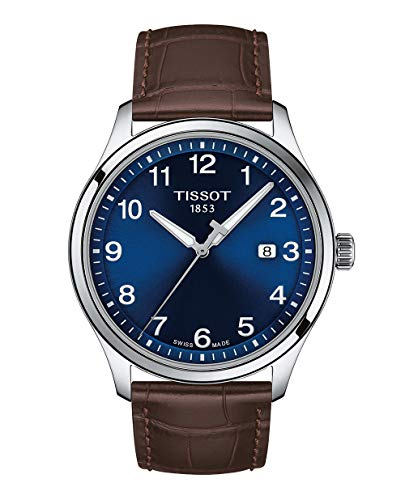Tissot mens Tissot Gent XL Stainless Steel Casual Watch Brown T1164101604700