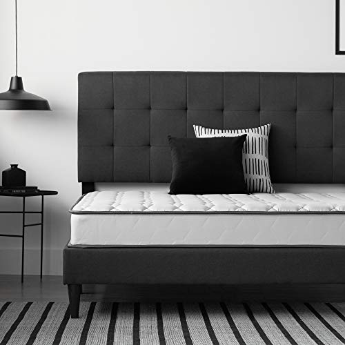 NEEVA Innerspring Mattress—7-Inch Firm Profile—Supportive Tempered Coils—Certified Foams and Textiles, Twin