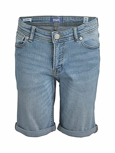 JACK & JONES Boy Jeansshorts Jungen Rick Original 176Blue Denim