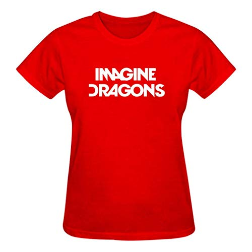 Imagine Dragons Evolve 3D Printing Short Sleeve Crew Neck T Shirt for Mens Red