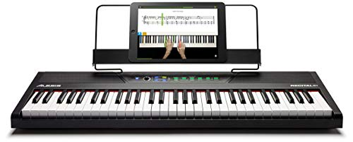 Alesis Recital 61 | 61-Key Digital Piano / Electronic Keyboard with Full...