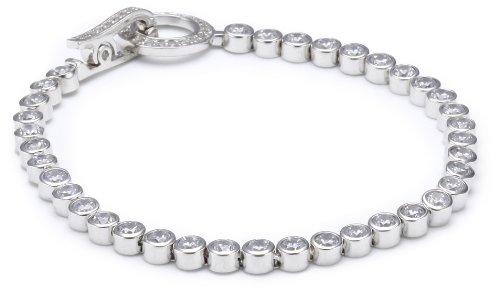 S. Oliver Damen-Armband 925 Silber Zirkonia weiß 18.0 cm