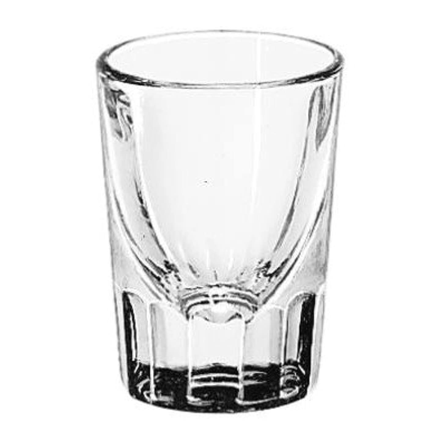 LIB5135 - Libbey Whiskey Service Glasses, Fluted Shot Glass, 1-1/4 Oz, 2-7/8 Inch Height