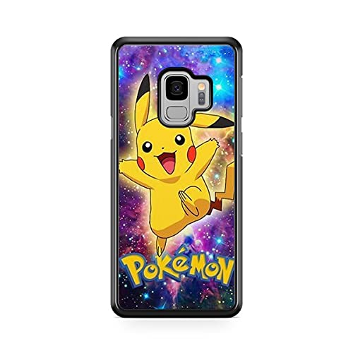 Coque pour Samsung Galaxy J6 2018 Pokemon go Team Pokedex Pikachu Manga Tortank Game Boy Color Salameche Noctali Valor Mystic Instinct Case 23