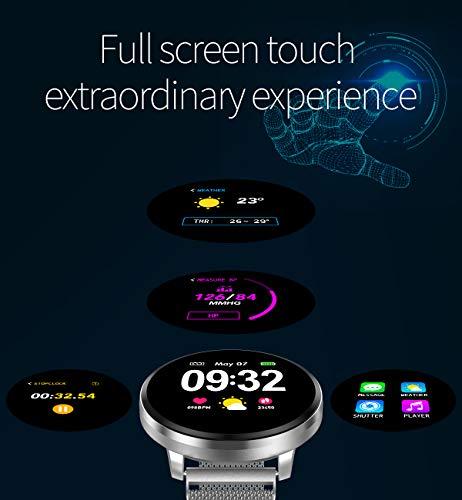 Smartwatch Fashion para Hombre Mujer Impermeable Reloj Inteligente Monitores de Actividad Fitness Tracker con Monitor de… 4