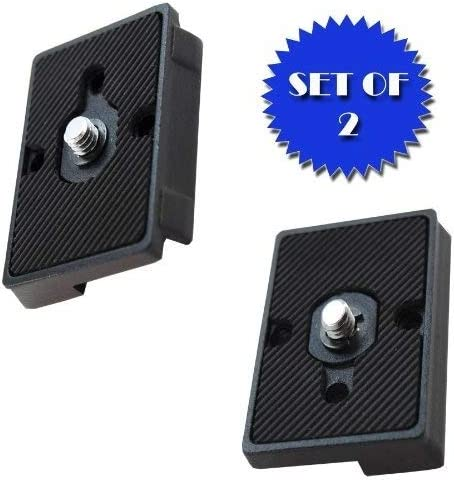 DC & Co. Quick Release Plate for the RC2 Rapid Connect Adapter (SET OF 2) for MANFROTTO 496RC2